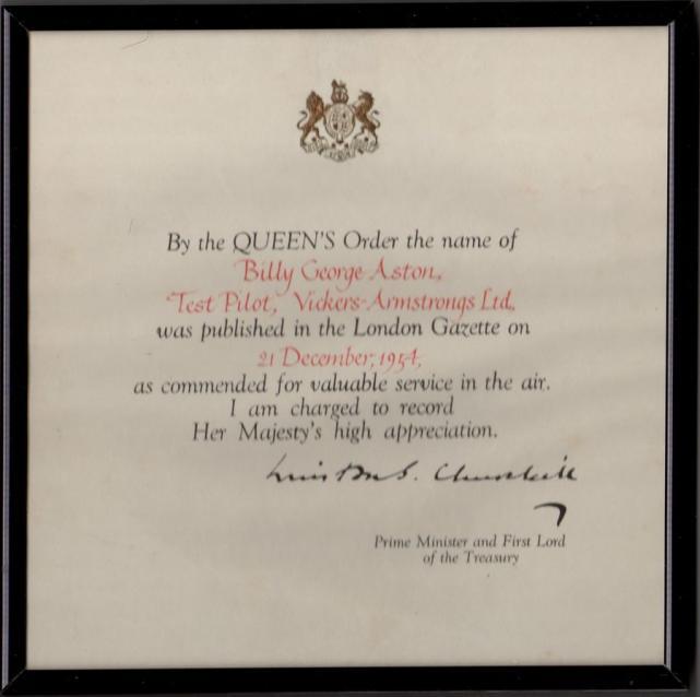 Aston award