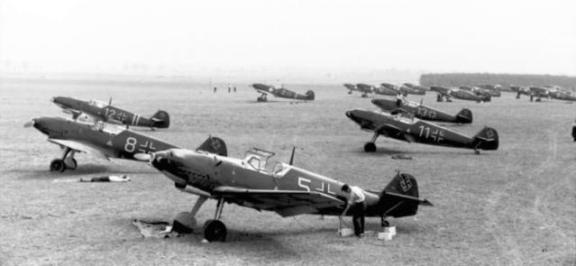 Bundesarchiv bild 101i 379 0015 18 flugzeuge messerschmitt me 109