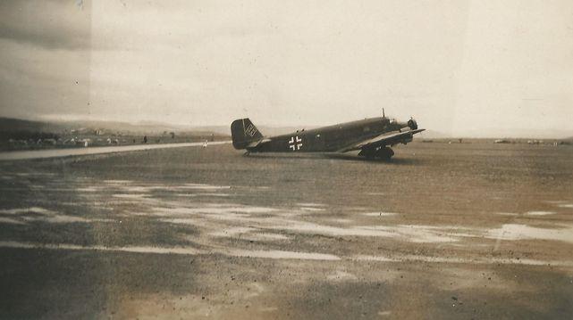 Junkers ju 52 lezignan 1941