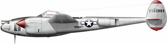 Lockheed p 38 j bong