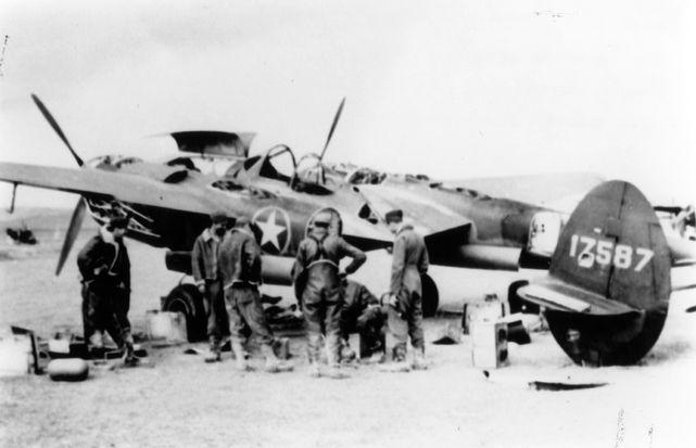 Lockheed p 38f 1 lo 41 7587 iwm