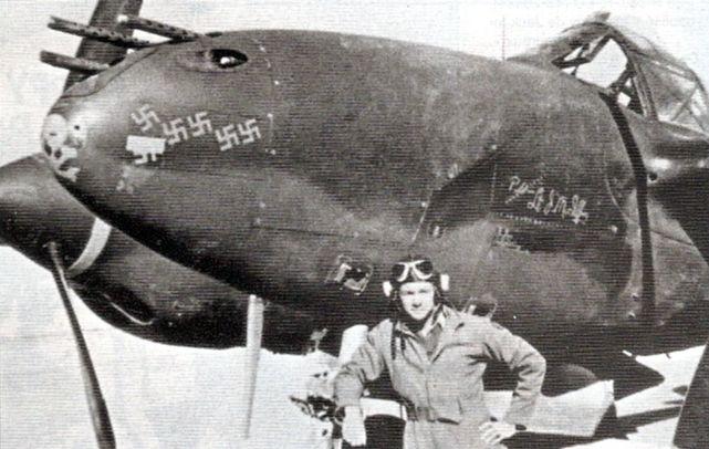 Lockheed p 38f 1 lo 41 7587 texas terror