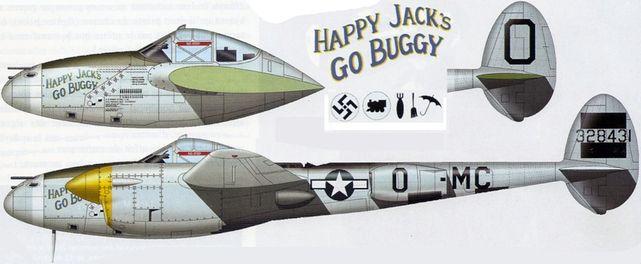 Lockheed p 38j 15 lo 43 28431