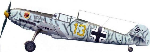 Messerchmitt bf 109 9 jg 54
