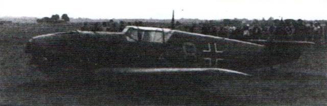 Messerschmitt bf 109 8 yellow