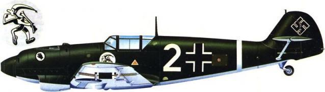 Messerschmitt bf 109 d 1 i zg 2