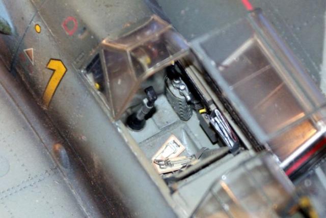 Messerschmitt bf 109 e 1 oblt georg schneider 1 32 cockpit inside