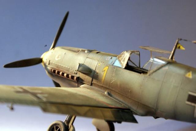 Messerschmitt bf 109 e 1 oblt georg schneider 1 32 cockpit