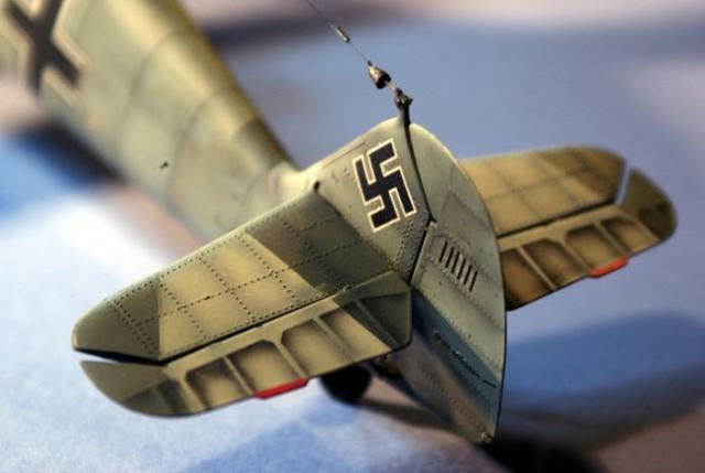 Messerschmitt bf 109 e 1 oblt georg schneider 1 32 tail
