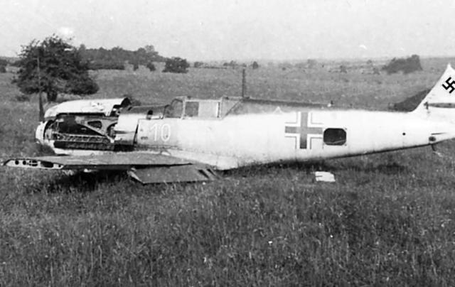 Messerschmitt bf 109 e1 1 jg21 holland june 1940