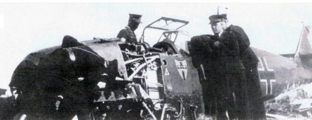 Messerschmitt bf 109 gelbe 8