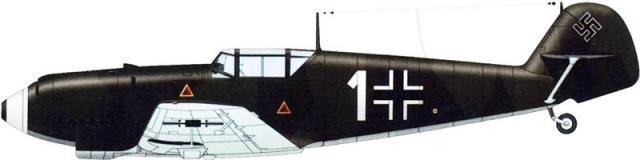 Messerschmitt bf 109d 1 lt gunter scholz