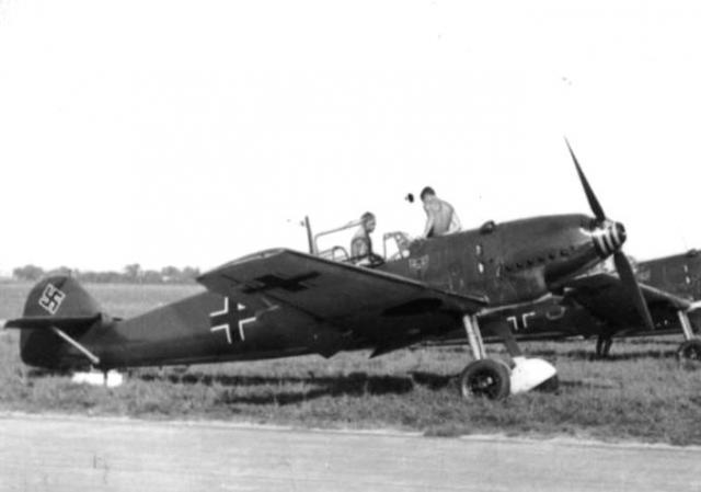 Messerschmitt bf 109d 1 oblt schneider