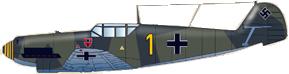 Messerschmitt bf 109d gelbe 1