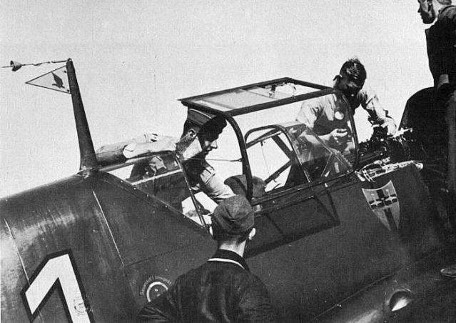 Messerschmitt bf 109d georg schneider