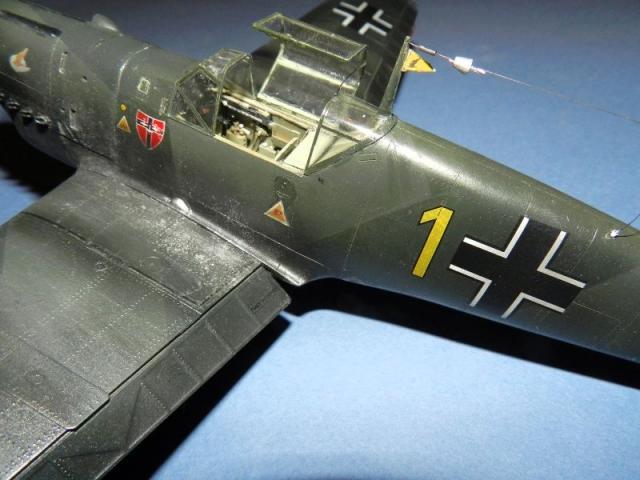 Messerschmitt bf 109d oblt georg schneider 1 32 cockpit