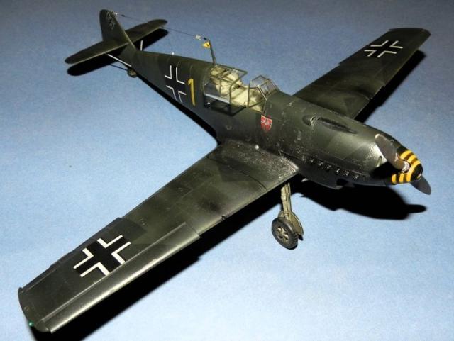 Messerschmitt bf 109d oblt georg schneider 1 32 front