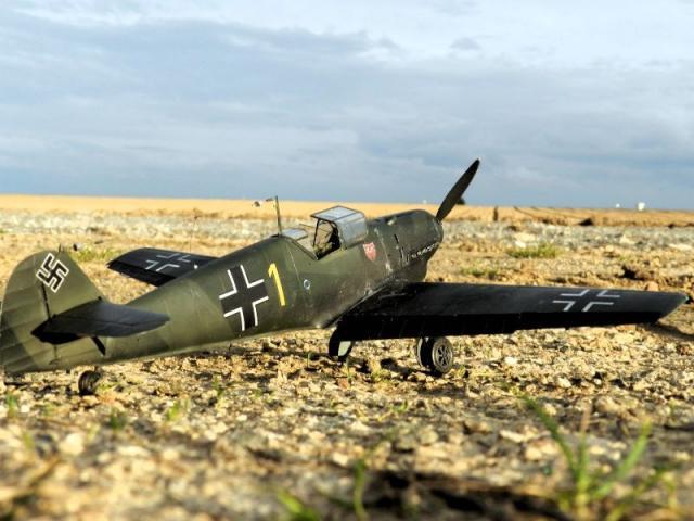 Messerschmitt bf 109d oblt georg schneider 1 32 right side