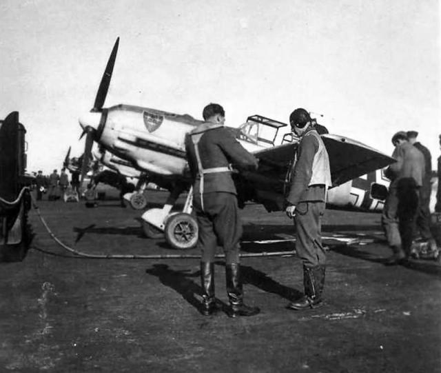 Messerschmitt bf 109e4 jg21 jg54
