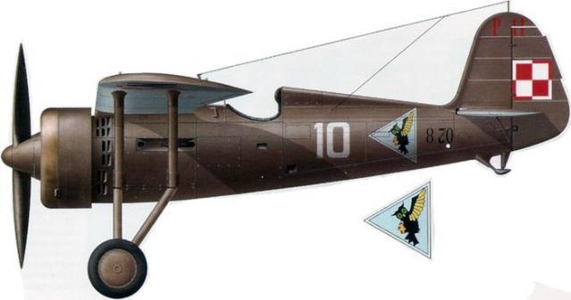 Pzl p 11c 113 eskadra