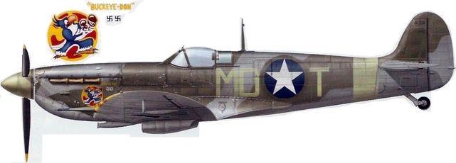 Spitfire mk vb gentile dekker