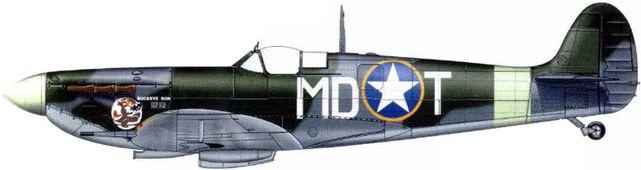 Spitfire mk vb gentile malcom laird