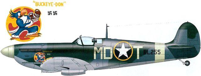 Spitfire mk vb gentile pa tilley